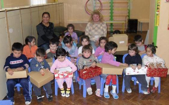 Computers for Charities - Shoebox Children