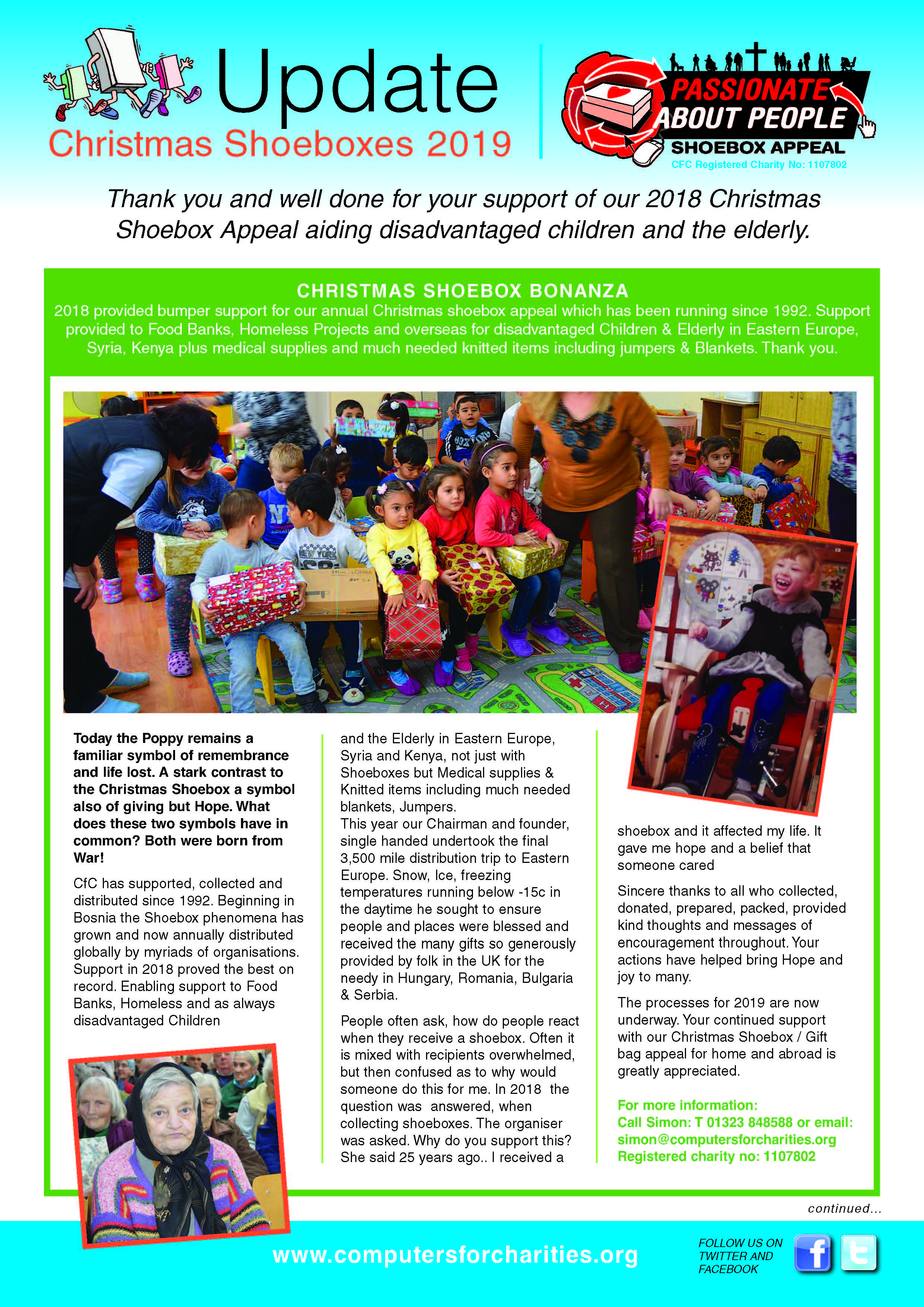 Christmas Shoebox Appeal 2019.Cantine Moth I A All Of The Shoebox Appeal 2019