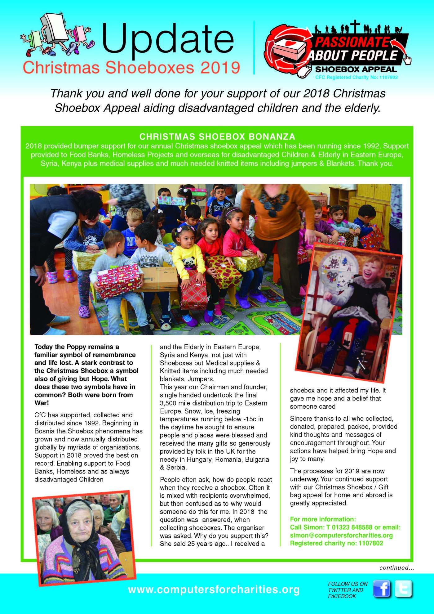 Christmas Shoe Box Appeal 2019.2018 Shoebox Appeal Updated Simon Rooksby S Blog