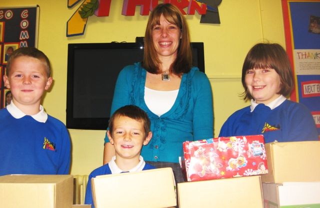 Schools shoebox support
